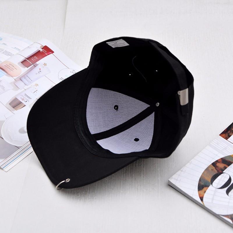 HT583 Gd unisex solid Ring Pin curved hats baseball cap men women snapback caps sport casquette gorras snapback baseball cap
