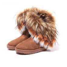 Free Shipping Shoes Woman Snows Boot 2016 Fur Women Boot Botas Masculinas Botas Femininas Winter Boots Women's High Boot 21(China (Mainland))