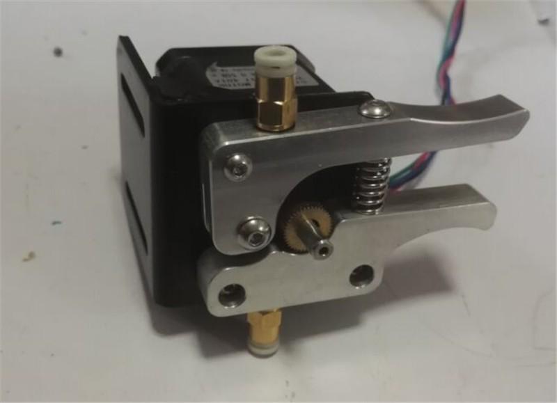 Horizon Elephant 3D printer parts 1.75mm Reprap 17 nema motor metal bowden extruder kit for 1.75 mm filament(NO stepper motor )
