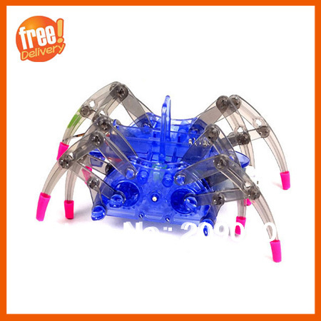 Electric spider robot Toy DIY educational Assembles Toys Kits Children Kids Gifts, - BlueCosto Online Store store