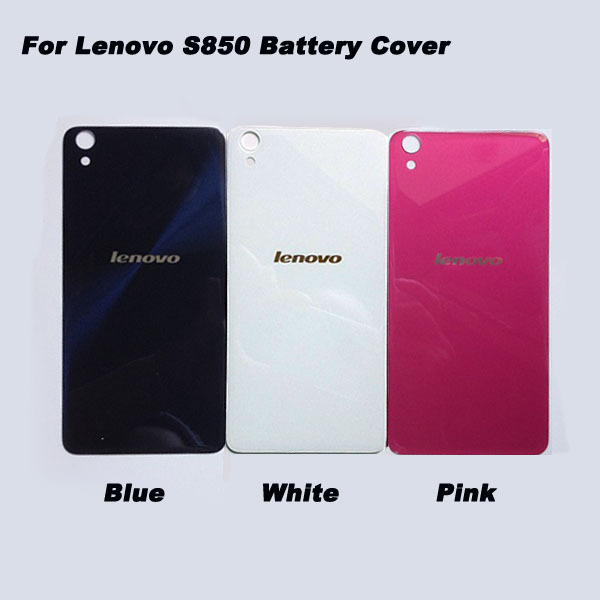 product Original S850 Housing Back Cover For Lenovo s850 s850t Back Glass Battery Door Case Free Shipping