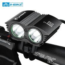 INBIKE Bike Light Waterproof Flashlight for Bicycle Handlebar LED Bike Lights 8800mh T6 Wick Bicycle Accessories IL708 3 Colors(China (Mainland))