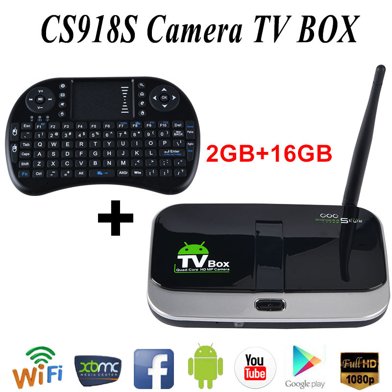 Bluetooth Android TV Box Quad core 2G Rom RK3188 Q7S Media Player 1080P 16G play store download cs918s tronsmart+i8keyboard(China (Mainland))