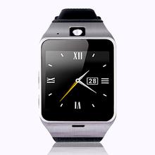 Gv18 смарт-чехол часы Bluetooth наручные часы телефон Smartwatch с объективом камеры GSM SIM карты памяти NFC аудио видео запись для Android телефон