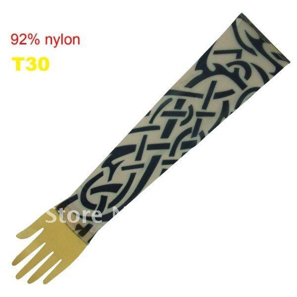 10pcs Novelty Tattoos Sleeves Popular Stripe Sleeve Tattoos Fake Tattoo Ideas Tattoo Kits Accessory T30