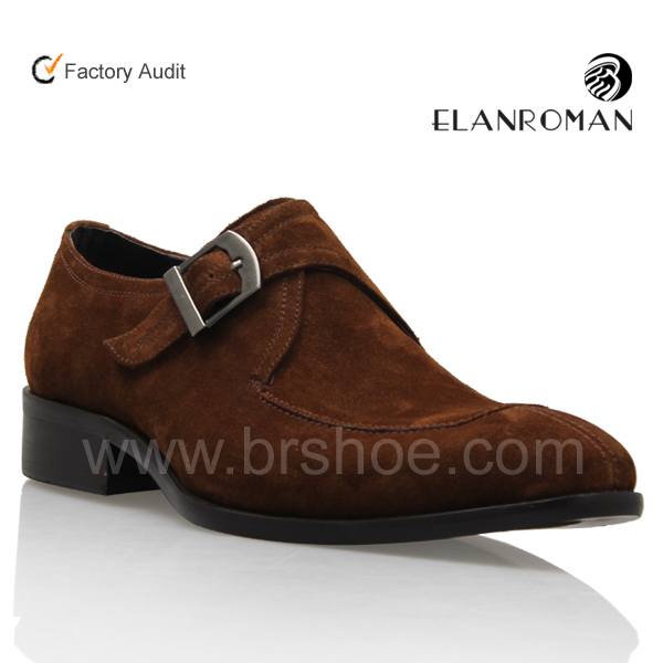 high grade suede leather shoes mens dress shoes rubber