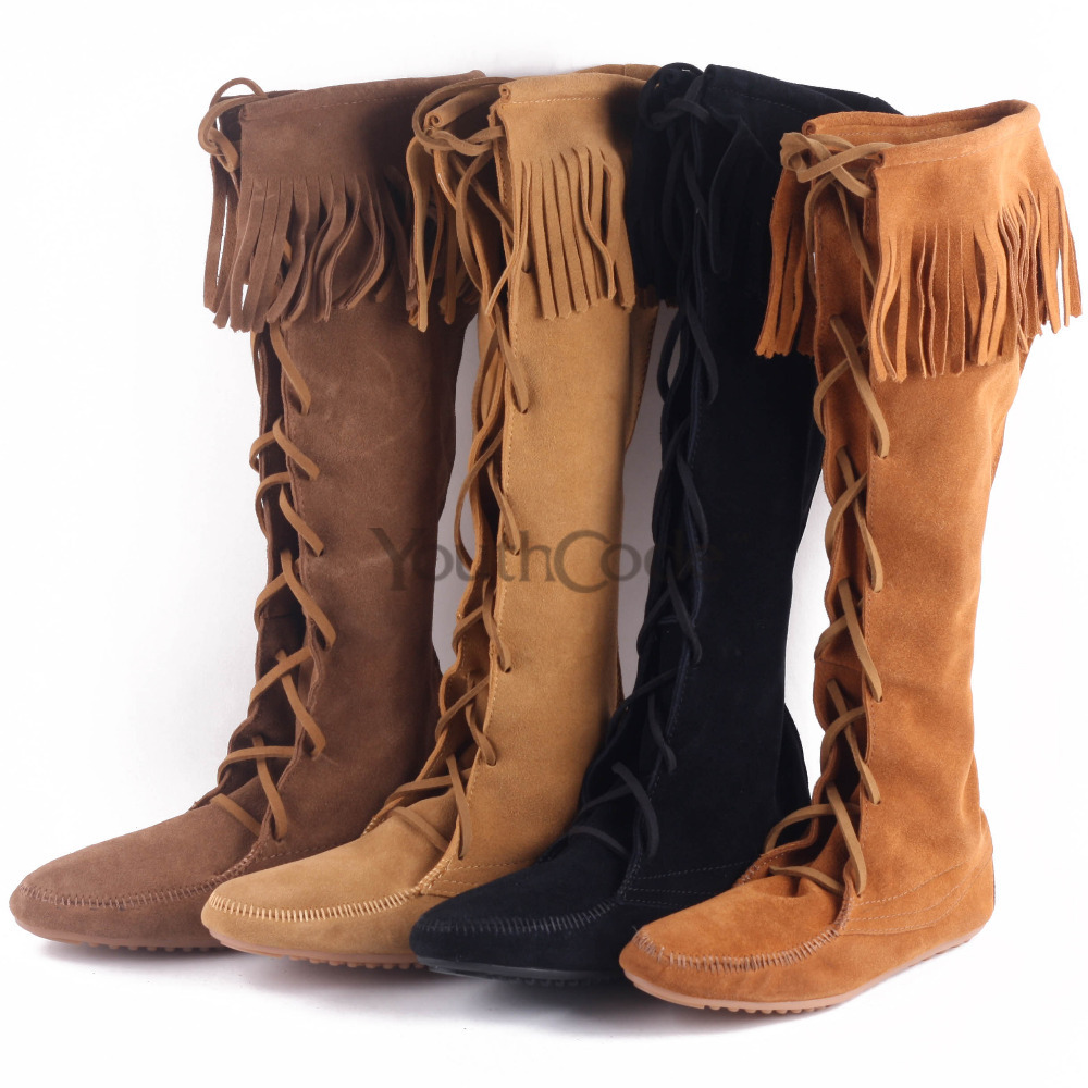 Online Buy Wholesale faux fringe boots from China faux fringe ...