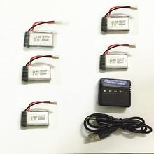 RC Drone JJRC H31 Lipo Battery 3.7v 400mAh Waterproof Drone h31 Battery H31-011 JJRC H31 Battery + 5in1 Cable Charger