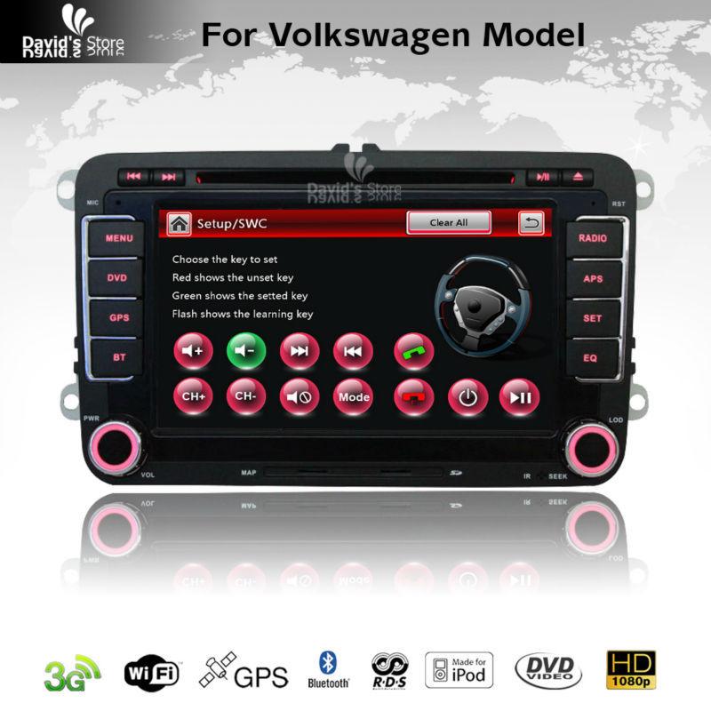 car multimedia GPS navigation for VW Volkswagen Polo Passat CC Golf V VI MK4 Tiguan Jetta Amarok Support iPhone Bluetooth SWC(China (Mainland))