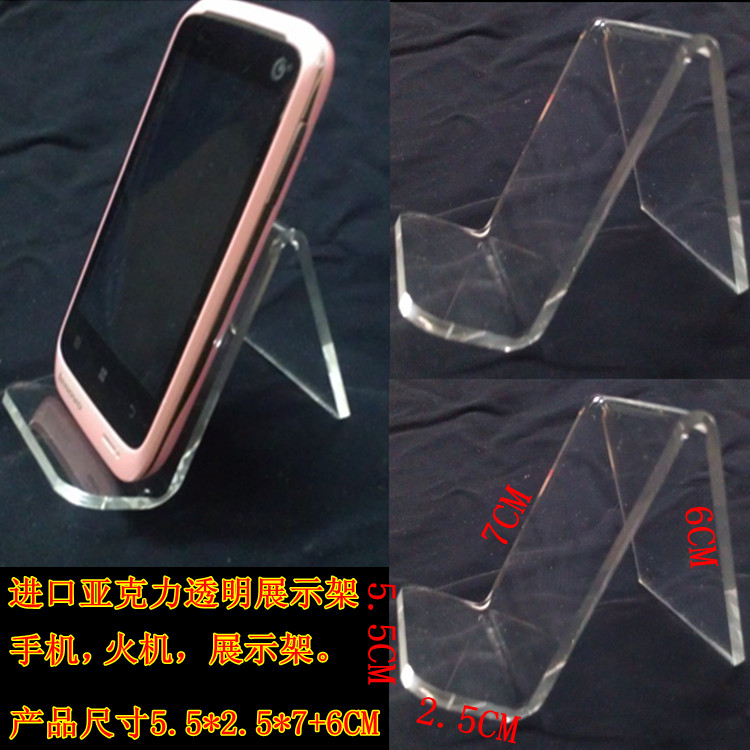 Digital general thickening acrylic cell phone holder mobile phone bracket mobile phone holder display rack mount(China (Mainland))
