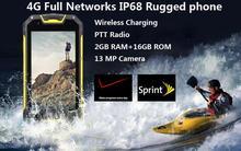 Unlocked M9 M8 Android 5.1 PTT Radio MTK6573 IP68 rugged Waterproof phone GPS 4G FDD LTE CDMA 2000 Wireless charger 4700mAH NFC(China (Mainland))