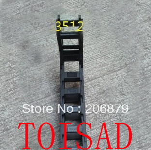 """1M Open Cable drag chain wire carrier 18*25mm 1000mm (40"""")/ Cable carrier towing chain(China (Mainland))"""