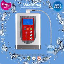 WEINING 2015 New Arrival Kangen Water Ionizer Premium Heating Water Purifier With Ionized Drinking Water Espresso(China (Mainland))
