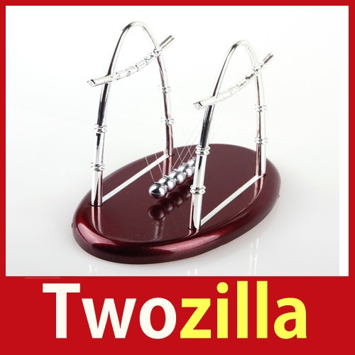 store specials [Twozilla] Newtons Cradle Balance Ball Physics Science Fun Desk Toy Accessory Gift #02 Hot cheap ! big discount(China (Mainland))