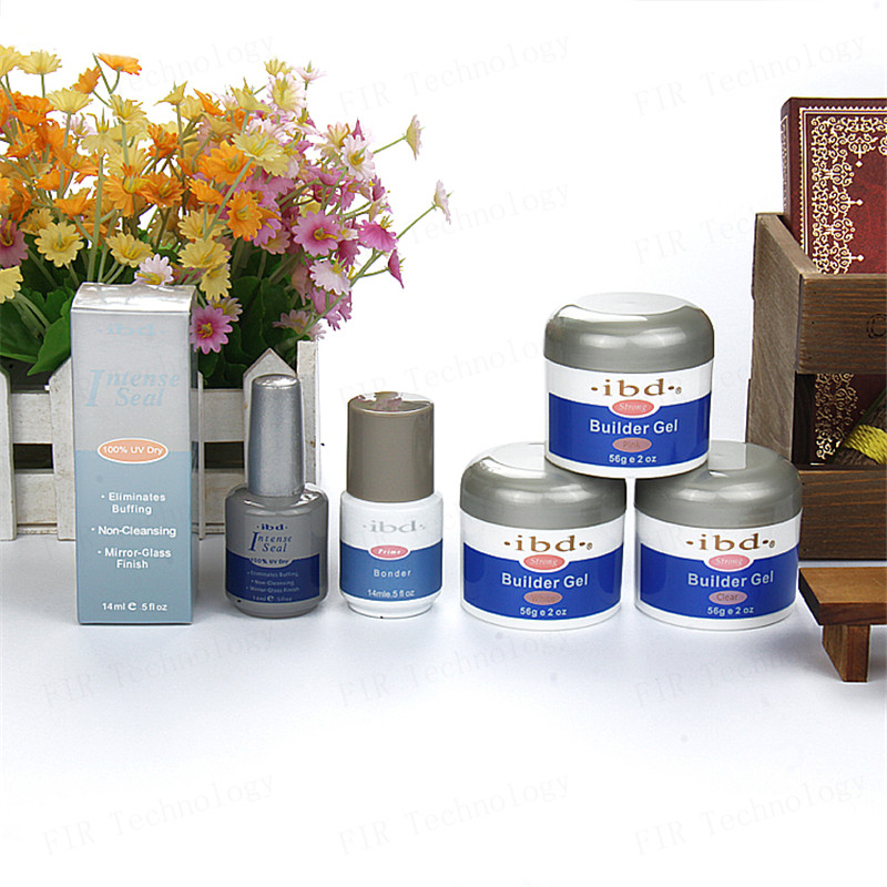1pcs Nail IBD Gel Builder Nail Gel Pink Clear White Beauty Salon 2oz / 56g Strong UV Ge Nail Art false tips extension ZYH053<br><br>Aliexpress