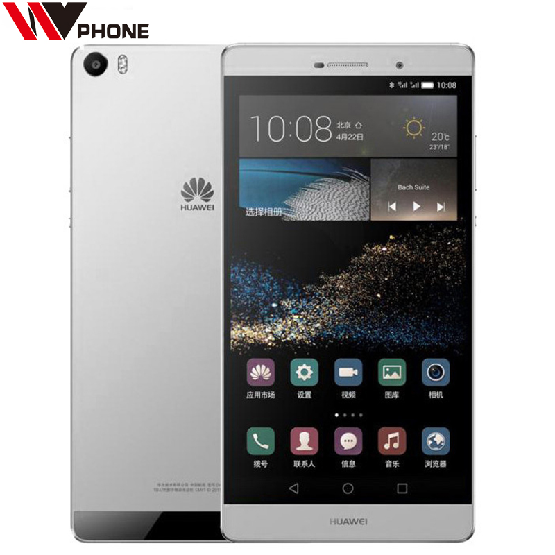 WV Huawei Ascend P8 MAXX Mobile Phone Dual SIM 4G LTE Kirin 935 Octa Core 3G RAM 64G ROM 6.8'' IPS 1920*1080p HiSilicon(China (Mainland))