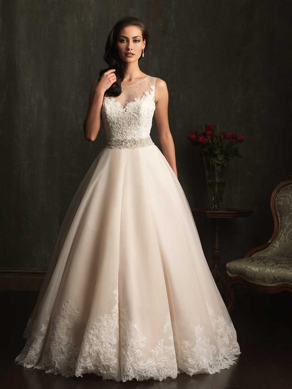 Sweetheart sheer tank backless full length ball gown brush for Beading for wedding dresses