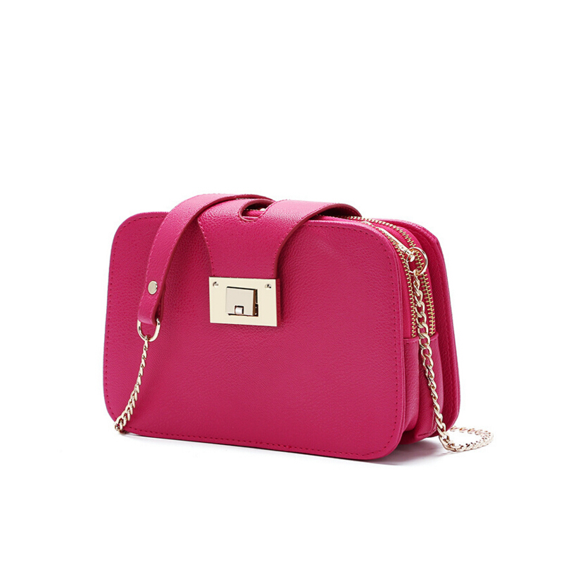 Women 2016 Mini Flap Bag Designers Handbags Woman Small Chain Hand Bags for Ladies Girl Bolso Candy Colors Women Messenger Bags<br><br>Aliexpress