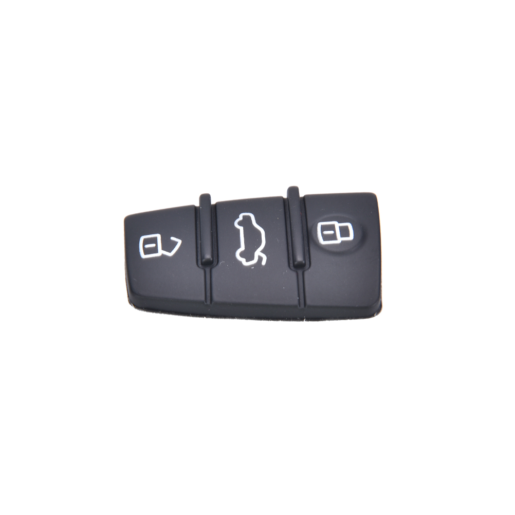 Repair 1 pcs Remote Key FOB 3 Button Rubber Pad Replacement Fits for Audi A3 A4 A6 TT Q7 Hot Selling(China (Mainland))