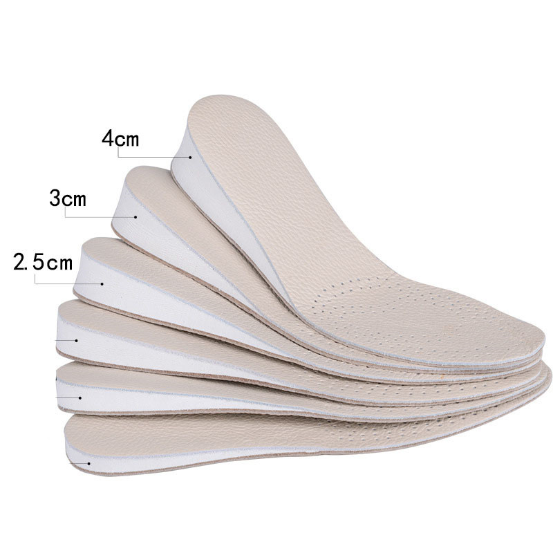 1pair 3cm 4cm increase height high insoles