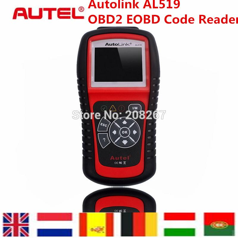 Autel AutoLink AL519 OBD-II And CAN Scanner Tool AL519 Code Reader Diagnostic Tool