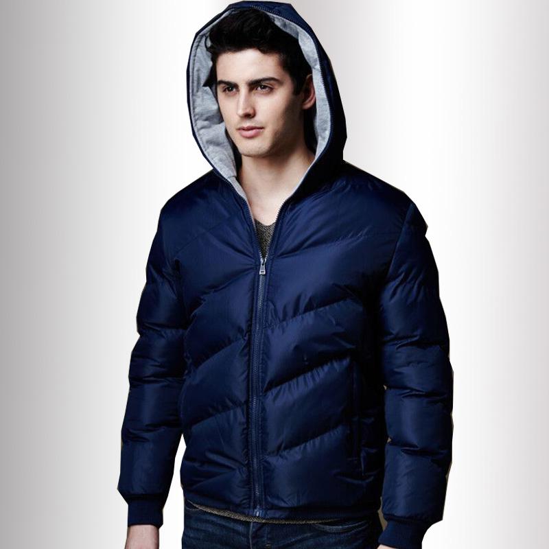 New Hooded white Red Black Blue Big Size 5XL Size winter Down jackets Cotton Warm Jacket Men Campera Pluma Jacket Free shipping(China (Mainland))