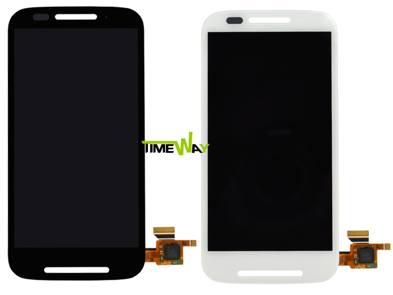 1PC/LOT Free shipping!!! for Motorola for MOTO E XT1021 XT1022 XT1025 LCD Display Touch Screen Digitizer Assembly + track No.(China (Mainland))