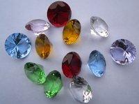 10pcs 40mm crystal diamond, big size crystal diamond, wedding gift,Christmas gift,home decoration