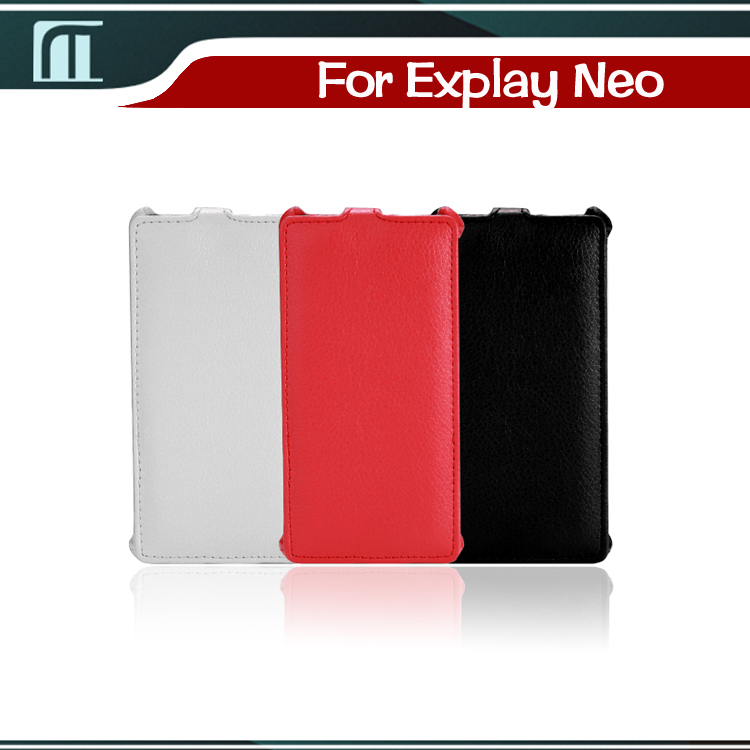 Explay Neo Free Shipping Protective Luxury PU Leather Open Up and Down Style Mobile Cell Phone Cases Best Hot Selling(China (Mainland))