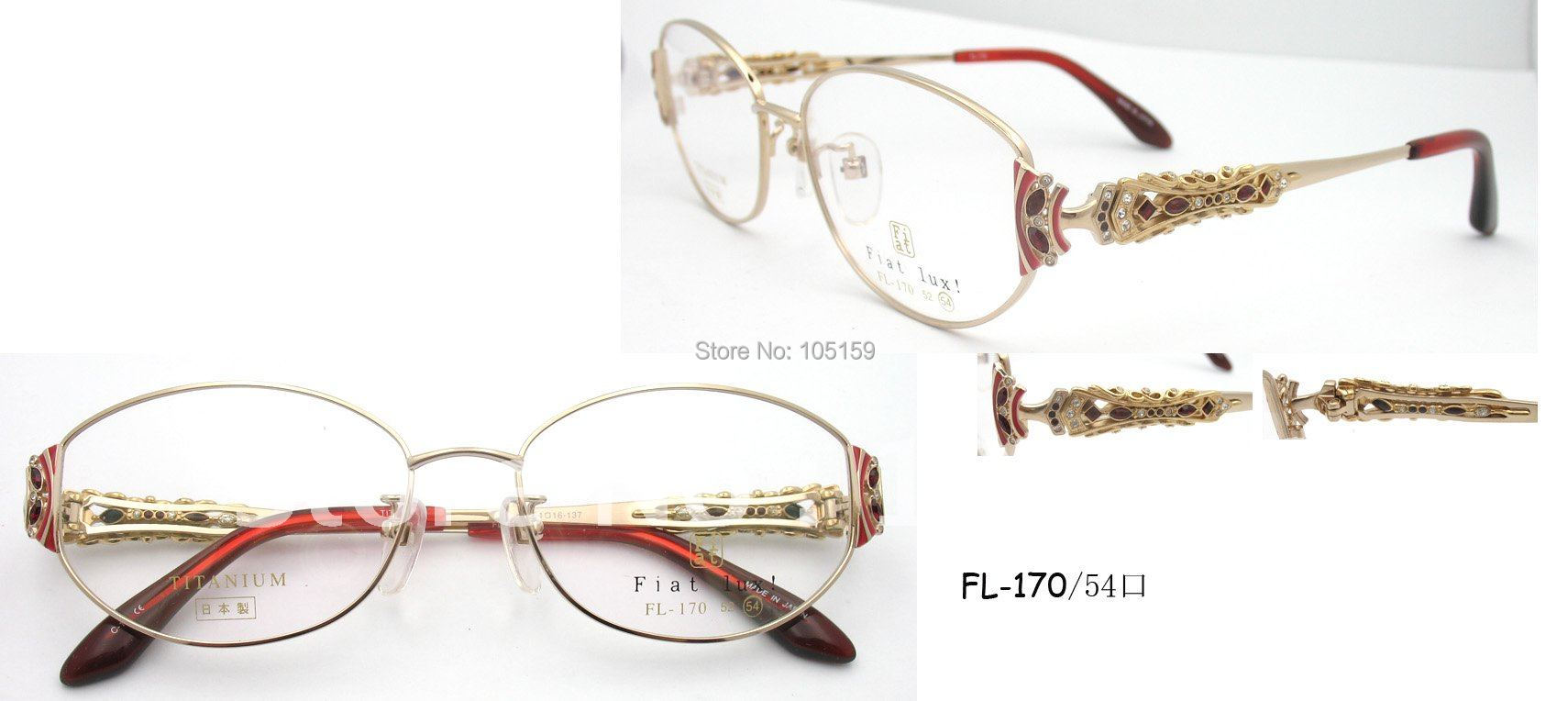 Brand glasses,Japan Original titanium optical frames,high ...