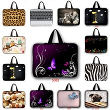 Buy New Fashion Sleeve Case Neoprene Cover + Hide Handle For 10 12 13 14.1 15 17 Tablet Notebook Laptop Bag 15.6 13.3 10.6 10.1 PC for $7.48 in AliExpress store
