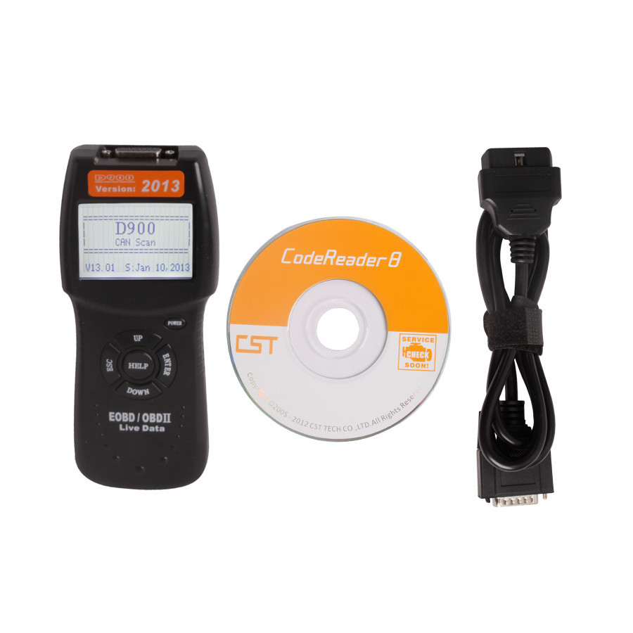 new D900 CANBUS OBD2 Code Reader 2013.1 Version(China (Mainland))