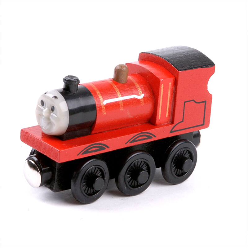 "Free shipping "" Jmnes"" model Wooden Magnetic Thomas and Friends toys baby learning & education classic toys -DS033(China (Mainland))"