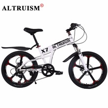 Buy ALTRUISM X7 Mountain Bike 20 Inch 7 Speed Bisiklet Aluminum Bicycle Children's Bike Velo Double Disc Brake Bikes Road Bicicleta for $262.38 in AliExpress store
