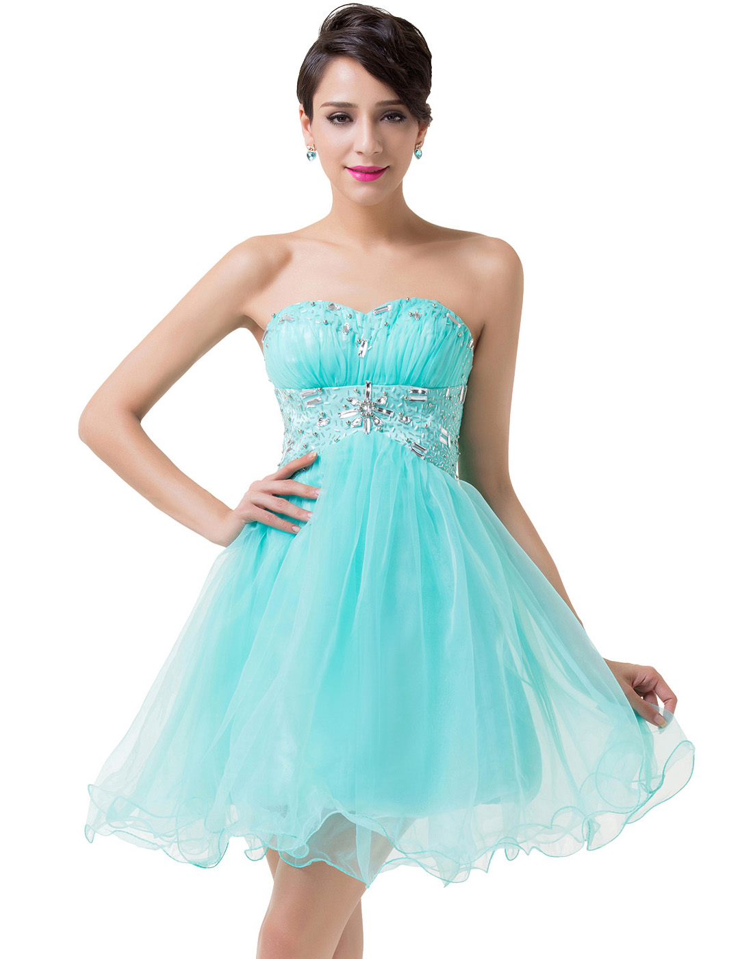 Short Turquoise Prom Dresses Uk - Plus Size Prom Dresses