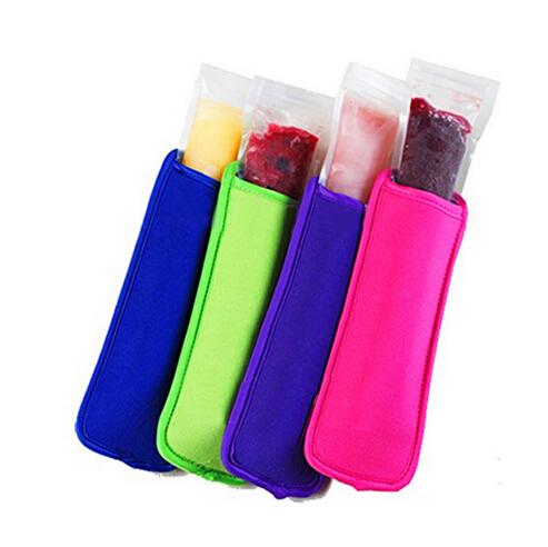 500pcs/lot free shipping pop holders popsicle holders neoprene ice sleeves freezer popsicle ice sleeves ice popsicle holder(China (Mainland))