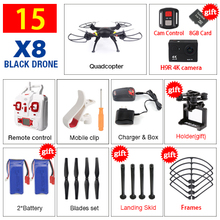 SYMA X8 X8A X8W FPV RC Drone With 4K Untra HD Camera 6-Axis RTF RC Helicopter Quadcopter fit H9R WIFI Camera VS SYMA X8G X8HG(China (Mainland))