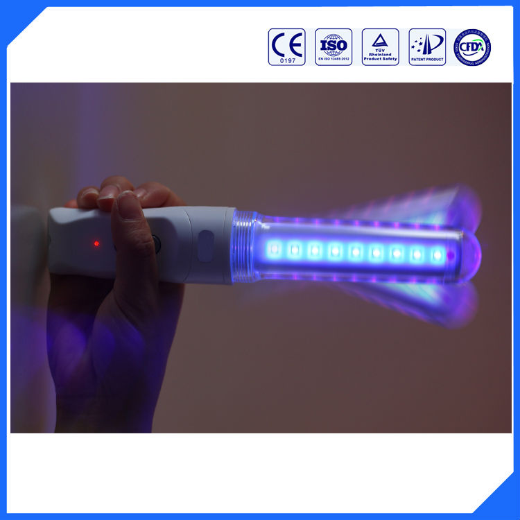 Blue led light physical therapy device vaginal tightening and vagina nursing clinics using(China (Mainland))