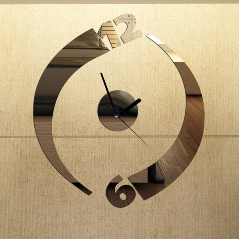 wall clock home decoration wall clock modern design rustic wall clock for gifts quartz art hanging clock New arrival