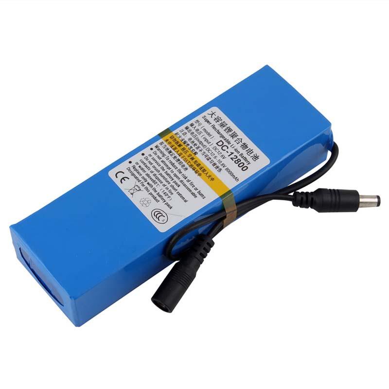 Portable 12V Li-po Super Rechargeable Battery Pack DC for CCTV Camera 8000mAh #8991(China (Mainland))