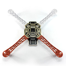 Buy F02192 HJ 450 Multicopter 450F nylon Fiber Frame Airframe kit Strong Smooth RC KK MK MWC 4-axis DIY Quadcopter plane for $6.11 in AliExpress store