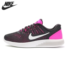 Original New Arrival 2017 NIKE LUNARGLIDE 8 Women's LOW TOP Running Shoes Sneakers(China (Mainland))