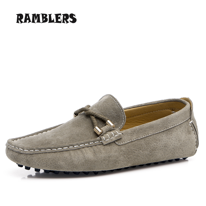 Genuine Leather Mens Loafers Slip On Soft Driving Shoes Mocassin Lazy Creepers Sapato Masculino Navy Mens Casual Dress Shoes<br><br>Aliexpress