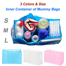 Baby Diaper Nappy Changing Storage Bags Inner Containers,Maternity Handbag Multi Liners Lining Divider 3 Colors S M L Sizes