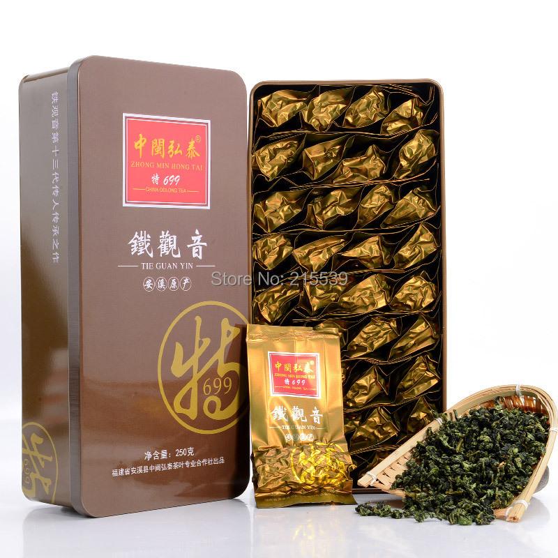 GRANDNESS 250g Aroma Flavor 2015 FRESH Premium Organic Fujian Anxi Tie Guan Yin tea 250g