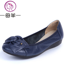Women Flats, 2015 Fashion Shoes Woman Loafers, women Genuine Leather Casual Flat Shoes Soft Comfortable Women Shoes