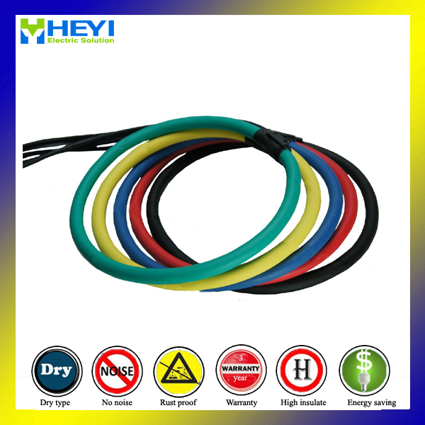 flexible rogowski coil HYC-350 Inner diameter 100mm Rogowski Rated current 1000A Signal Output<br><br>Aliexpress