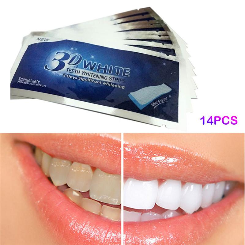 B tira oral blanca