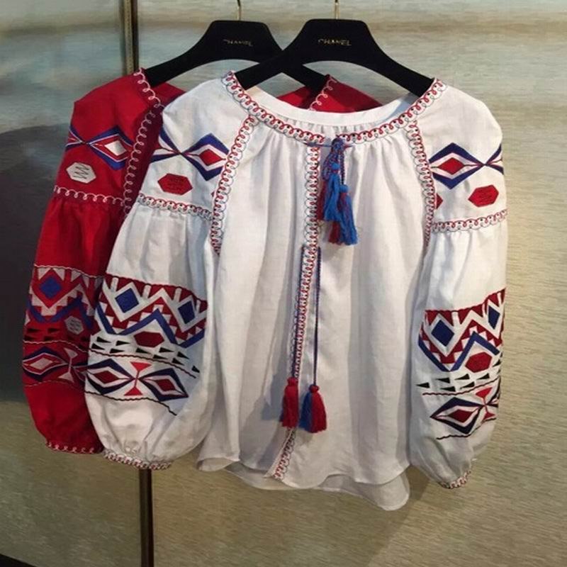 Popular embroidery shirt designs makaroka