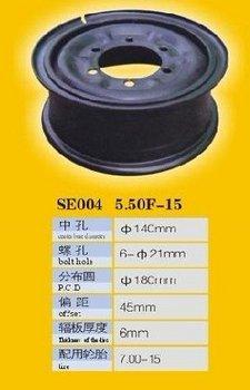 Steel Wheel - Tube - 5.50F-15 CKSW1004